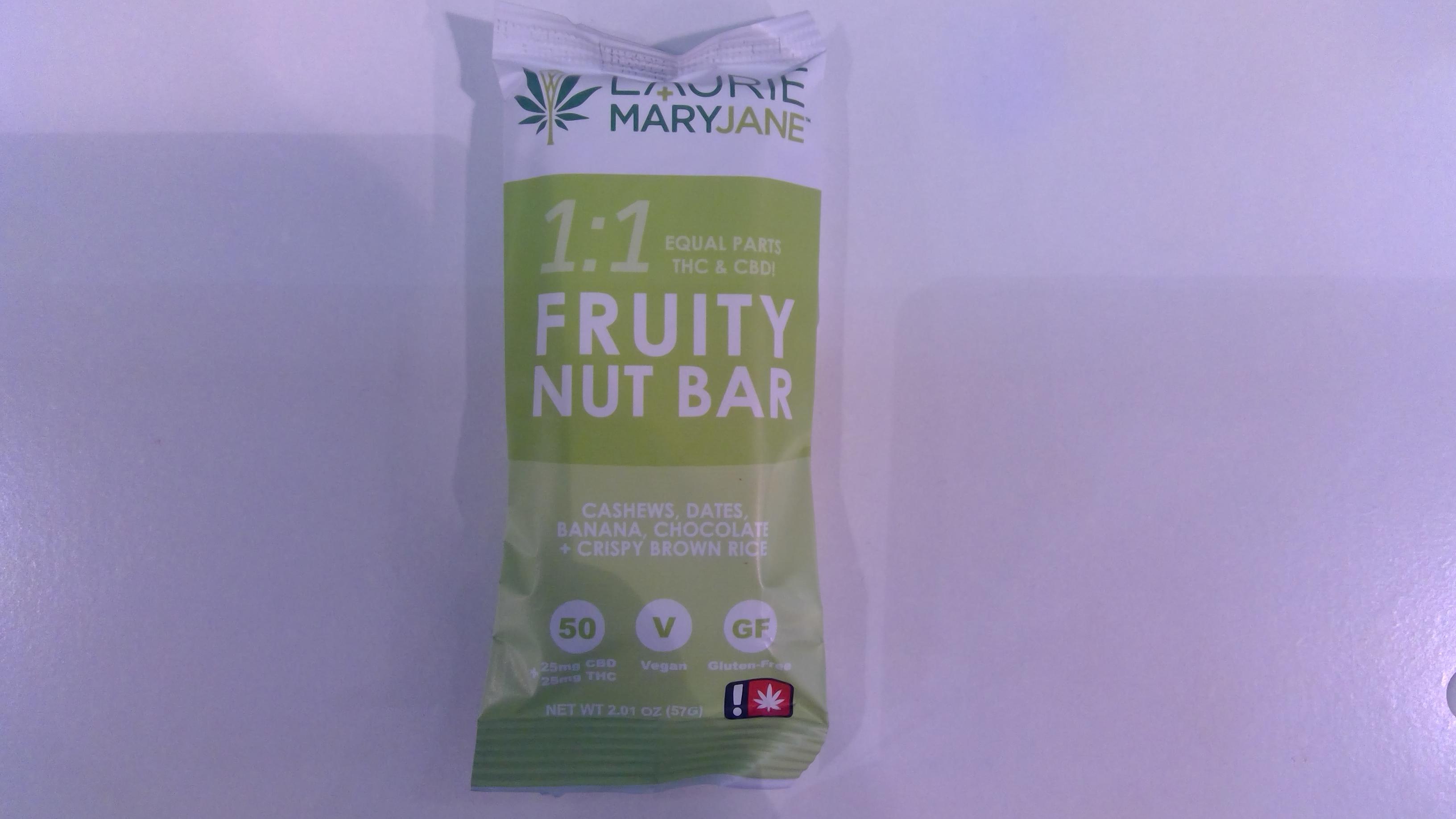 1:1 Fruity Nut Bar image