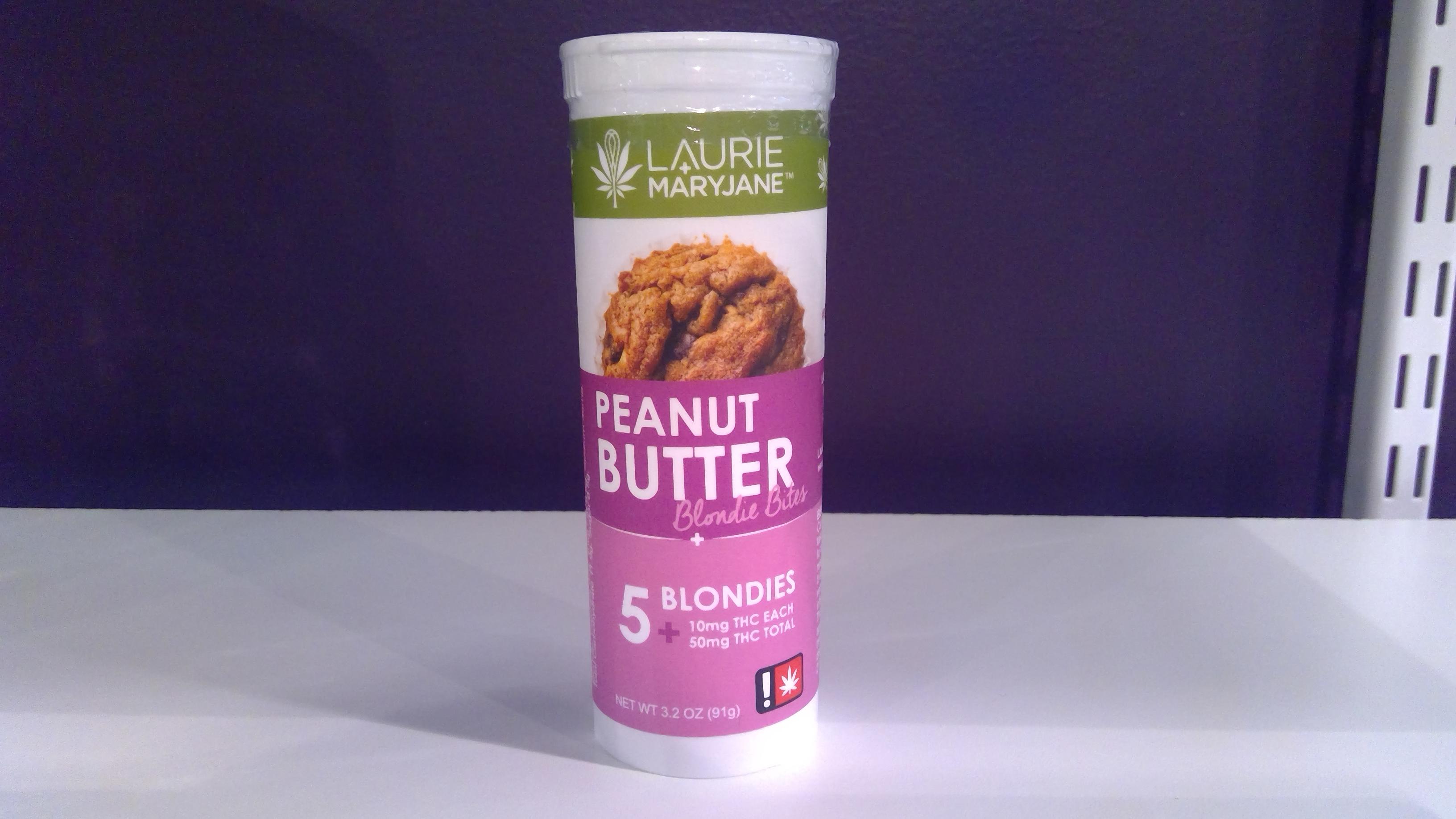 Peanut Butter Blondies image
